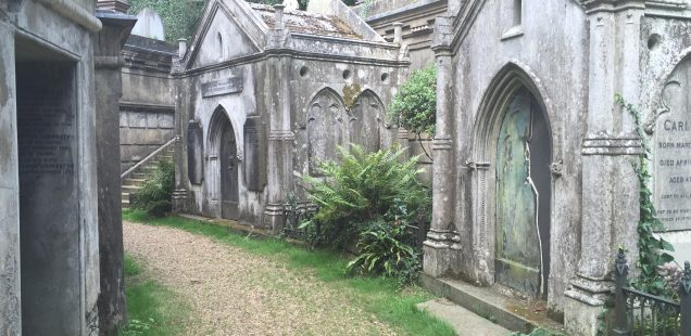 The Highgate Cemetery in London. Images as a Socio-Religious Practice