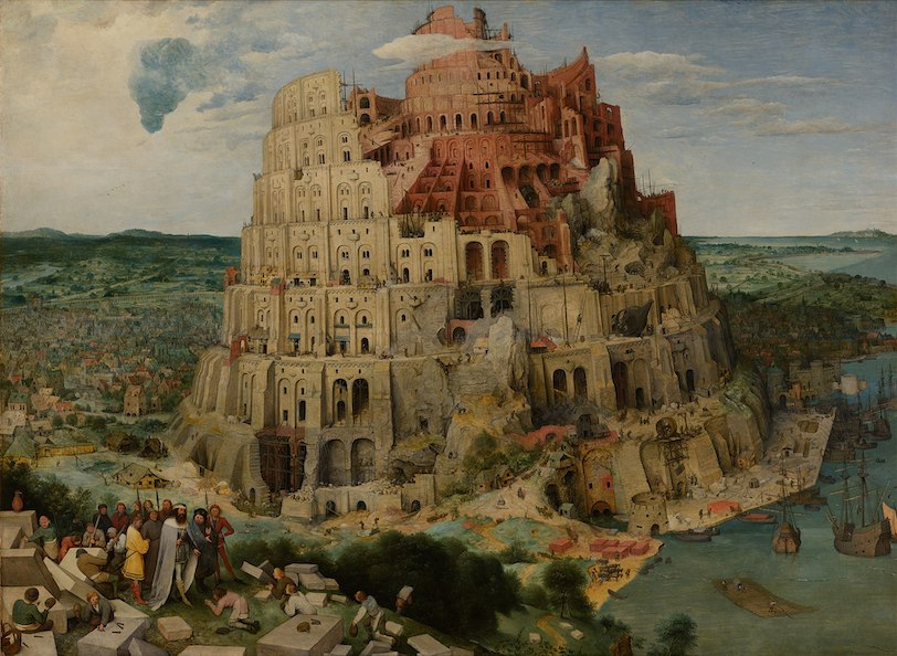 Pieter Bruegel - The Tower of Babel, ca 1563